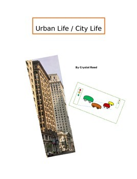 Urban Community ELA Story Packet with Common Core Questions