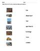 Urban Community ESL Vocabulary Copy/ Match Activity
