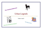 Urban Legends and Evaluating Sources