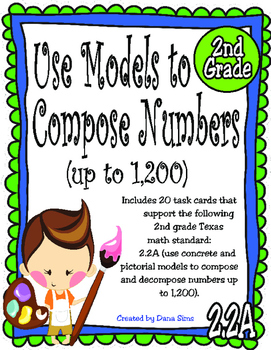 Use Models to Compose Numbers (up to 1,200) TEKS 2.2A