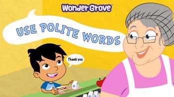 Use Polite Words Pre-K/K