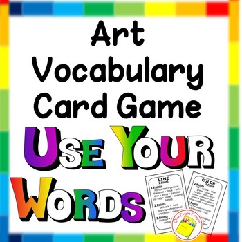 Art Game - Middle School - Learning Art Vocabulary
