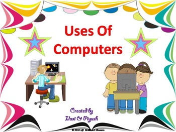 Use of Computers - A detailed computer note