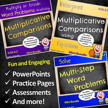 Use the Four Operations with Whole Numbers (Mega Bundle)