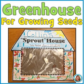 "Greenhouse for Seeds ""Sprout"" House"