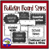 Bulletin Board Signs