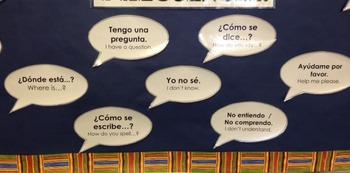 Useful Spanish Classroom Phrases