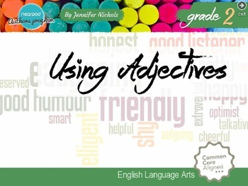 Using Adjectives