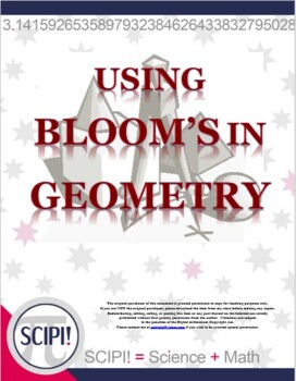 Using Bloom's in Math