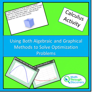 Using Both Algebraic and Graphical Methods to Solve Optimi