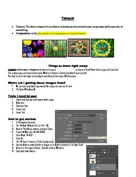 Using Texture in Photoshop