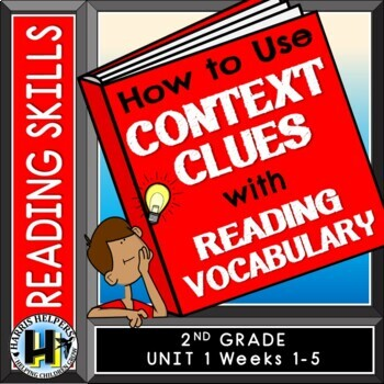 Using Context Clues - 2nd Grade Wonders Reading Series Voc