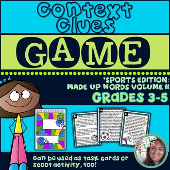 Using Context Clues to Determine Word Meaning: Sports Edit