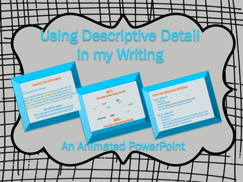 Add Detail to Writing: Lessons and Activities