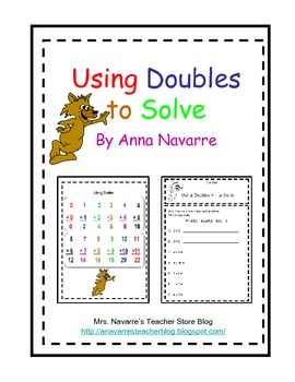 Using Doubles to Solve