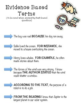 Using Evidence Based Terms Poster