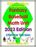 Fantasy Baseball Unit: An Engaging Way to Reinforce Math S