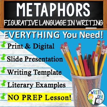 METAPHORS - Figurative Language - High School