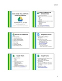 Using Google Docs and Forms to Improve Efficiency