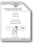 Using 'I' & 'Me'