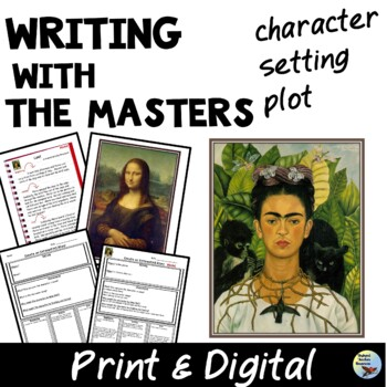ESL Writing With the Masters Great for ELL, GEN ED, SPED by Skybyrd Teacher Resources