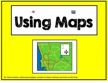 Using Maps - Title, Legend, Compass Rose