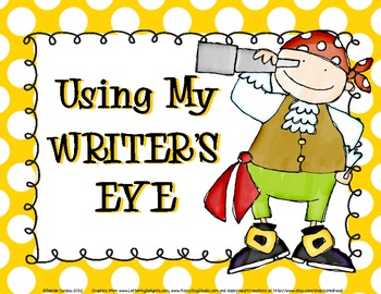 Using My Writer's Eye: I SEE Posters (Pirates)