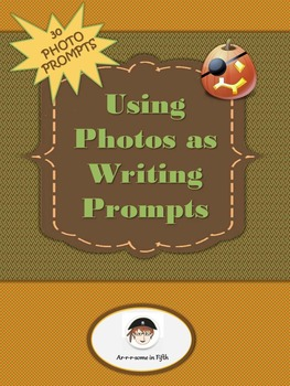 Using Photos as Writing Prompts Activity Halloween Edition
