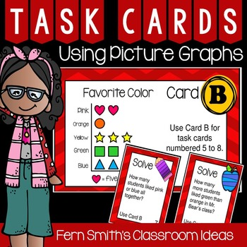 Using Picture Graphs Task Cards