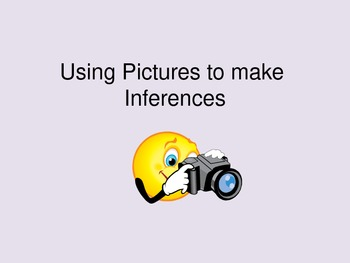 Using Pictures to make Inferences