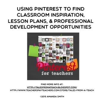 Pinterest: Inspiration, Lesson Plans, & Professional Devel