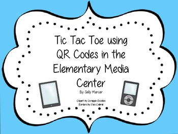 Using QR Codes in the Elementary Library & Media Center (T