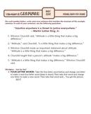 Using Quotations: Ten-Minute Grammar Unit #19
