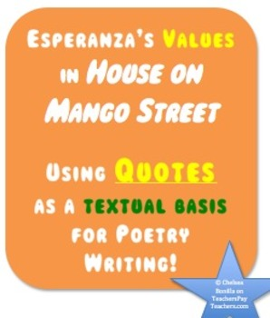 Using Quotes as a textual basis for Poetry Writing! (House