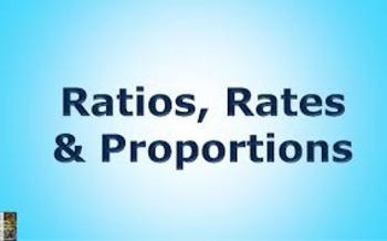 Using Ratios and Rates to Solve Real World Math Word Probl