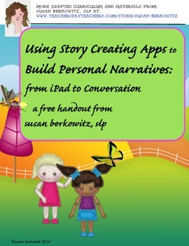 Using Story Creating Apps to Build Personal Narratives: iP