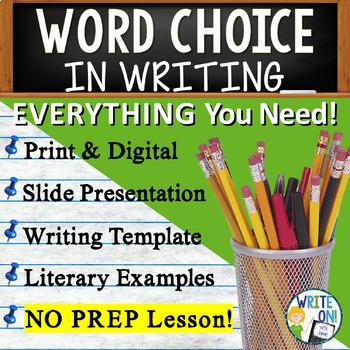 WORD CHOICE - 6 Traits of Writing / Figurative Language -