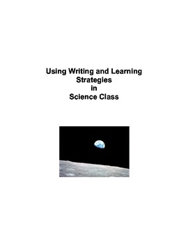 Using Common Core Writing and Learning Strategies in Scien