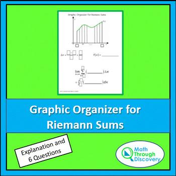 Using a Graphic Organizer to Write a Riemann Sum