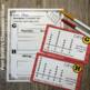 Using and Making Line Plots Task Cards with Common Core