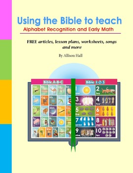 Using the Bible to teach Alphabet Recognition and Early Math