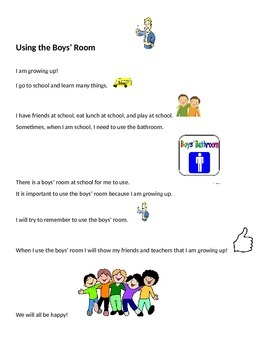 Using the Boys Room
