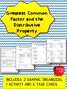 Greatest Common Factor and the Distributive Property