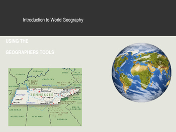 Using the Geographers Tools -  PowerPoint