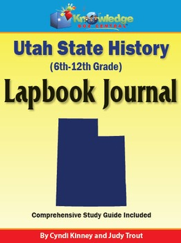 Utah State History Lapbook Journal