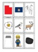 Utah themed Memory Matching and Word Matching preschool cu