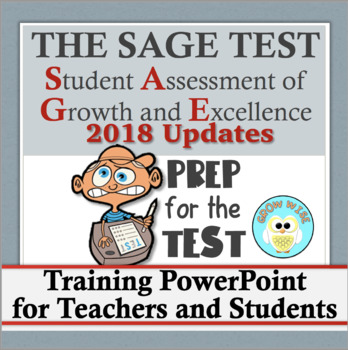 SAGE: Introduction to the Test PowerPoint with 2016 Updates!