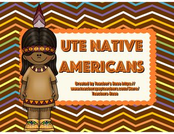 Ute Native American Mini Unit