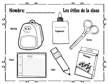 Utiles de la clase