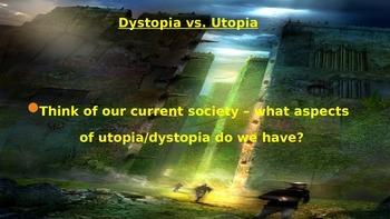 Utopia vs. Dystopia Creative Writing Assignment